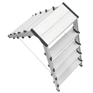 Hailo Trappestige D60 i Aluminium