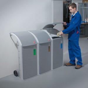 Hailo WSB design affaldsspand Industri system til Affaldssortering