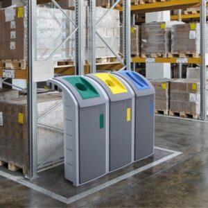 Hailo WSB design Plus affaldsspand Industri system til Affaldssortering